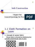 1.1-Cloth Formation on Loom