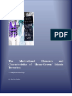 The Motivational Elements and Characteristics of 'Home-Grown' Islamic Terrorists- A Comparative Study