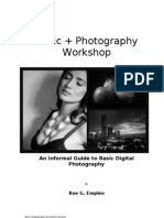 Basic+ Photography Workshop Module