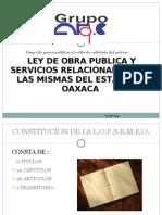Presentación LEY DE OBRA PUBLICA