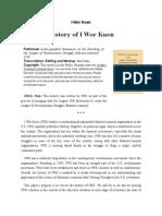History of I Wor Kuen