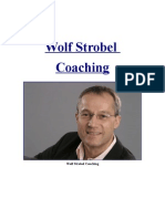 Wolf Strobel Coaching