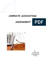 Corprate Accounting Assingment