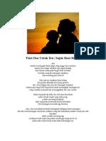 Puisi Doa Untuk Ibu
