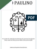 Catequeses de Bento XVI Sobre o Ano Paulino
