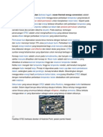 Fisika Teknik-Konversi Energi Termal Lautan