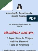 Apresentação Deficiência Auditiva