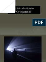An Introduction to Cytogenetics Dr.dana