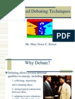 Advanced Debating Techniques