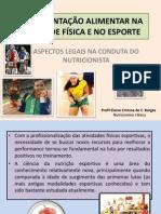 SUPLEMENTAÇÃO ALIMENTAR NA ATIVIDADE FÍSICA E NO ESPORTE