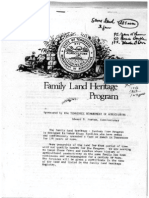 Mrs. Howard Gamble - Heritage Century Farm Documents