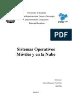 Sistemas Operativos Móviles y en la Nube
