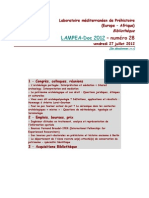 LAMPEA-Doc 2012 – numéro 28 / vendredi 27 juillet 2012