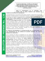 Boletin de Prensa 126