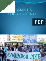 Asamblea Constituyente Diapositivas Para Exponer