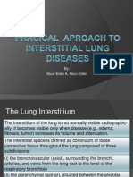 Approach to Interstitial Lung Diseases