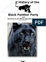 A Brief History of the Black Panther Party Positives and Negatives by Sundiata Acoli