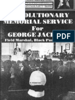 Revolutionary Memorial Service for George Jackson Bbp Newspaper Sept 4 Vol7 No2 1971