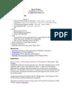 Resume Java 10 10