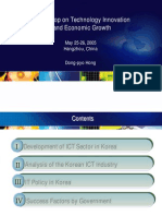 Development of ICT in Korea