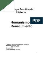 Tp Humanismorenacimiento