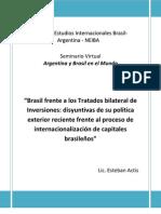 Brasil Frente a Los Tratados Bilateral de Inversiones