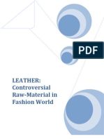 LEATHER Termpaper