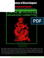 RBG on the History of Black August Concept and Program