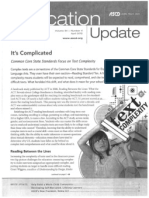 It's Complicated_CC State Standards Focus on Text Complexity