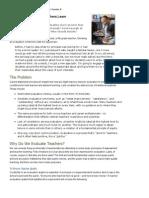 Evaluations That Help Teachers Learn_Danielson