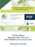 Novas tecnologias de precipitadores eletrostáticos_Charles Hayes_Southern Environmental