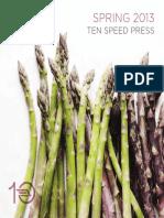 Ten Speed Press Catalog Spring 2013