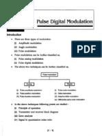 Pulse Digital Modulation & Delta Modulation