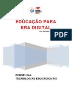 A PED-APOSTILA TECNOLOGIAS E EDUCAÇAO - FMP