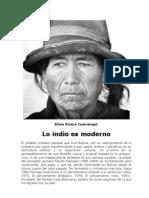 RIVERA CUSICANQUI Silvia - Lo Indio Es Moderno