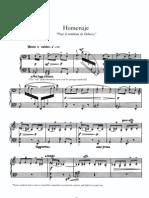 Manuel de Falla-homenaje Pour Le Tombeau de Debussy