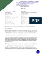 NOAA Appreciation Letter_PSP and Salmon Safe (040612)_SMRRW
