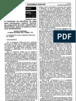 Decreto Regional Tumbes