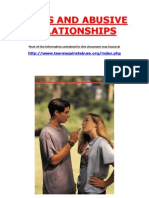 Teens and Abusive Relationships
