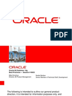 Oracle Bi Publisher Best Practices