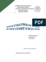 INSTRUMENTOS PSICOMETRICOS