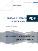 Derecho de La Informatica