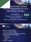 Designing Cycling Facilities