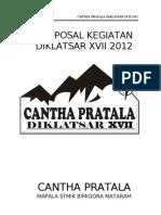 Proposal Diklatsar 2012