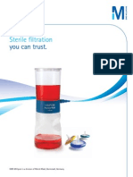 Sterile Filtration Product Guide