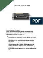 Configuración Router NG-1060S