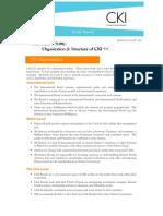 Organization & Structure of CKI