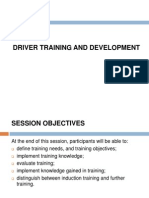 Drivers Training and Development