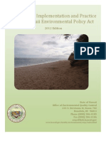2012 Guide to the Implementation and Practice of the Hawaii Environmental Policy Act (HEPA)