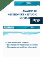 Analisis de Necesidades y Estudio Unidad 3